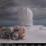 snow on maunakea